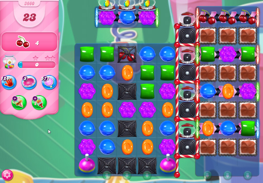 Candy Crush Saga level 3660