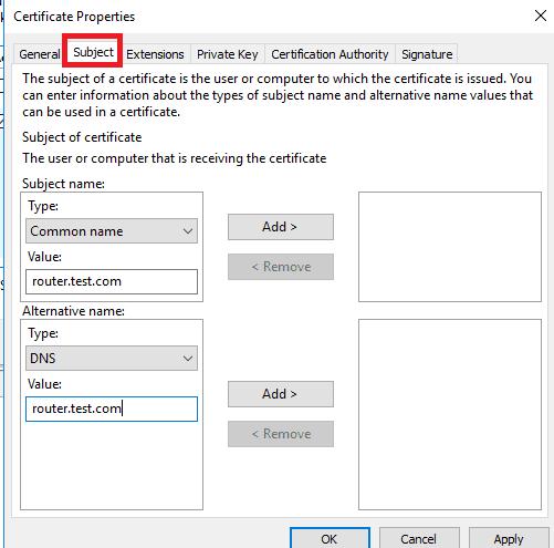 Setup vpn windows server 2016