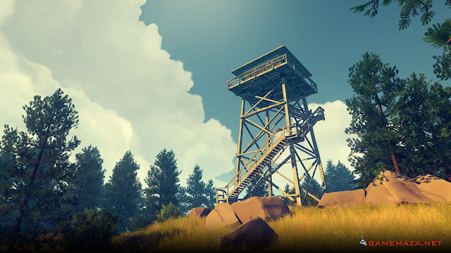 Firewatch Game Screenshot Gameplay 2