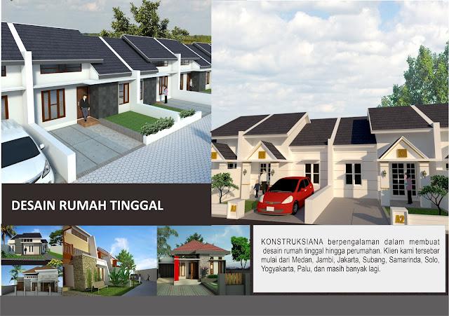 Konstruksiana Jasa Desain Rumah Tinggal