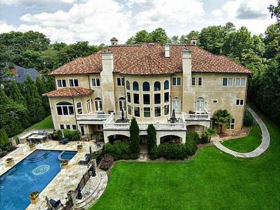 Eileen's Home Design: Mega Mansion For Sale in Atlanta, GA