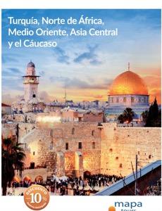 Mapa Tours Viajes Oriente Media y Asia 2017