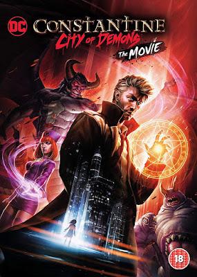 Constantine City Of Demons The Movie Dvd