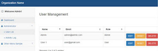 Contoh Login System & User Managemen Codeigniter 3 Simpel