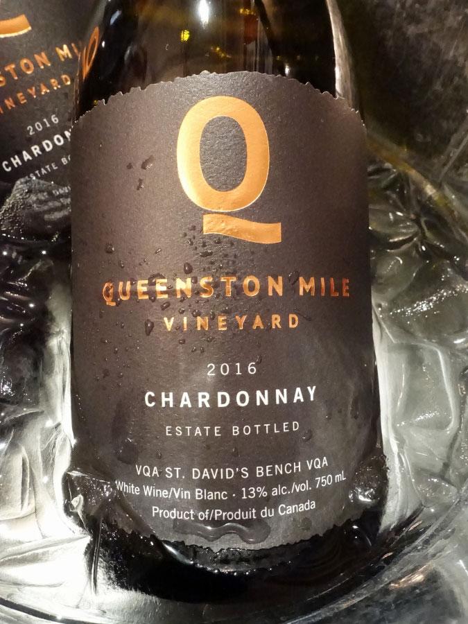 Queenston Mile Vineyard Chardonnay 2016 (88+ pts)
