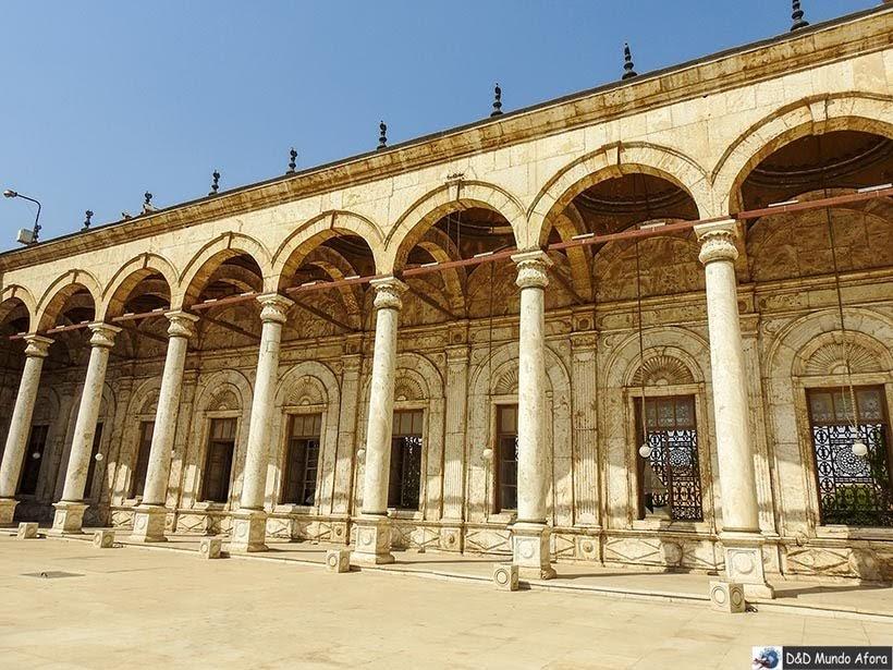 Pátio da Mesquita de Mohamed Ali na Cidadela de Saladino