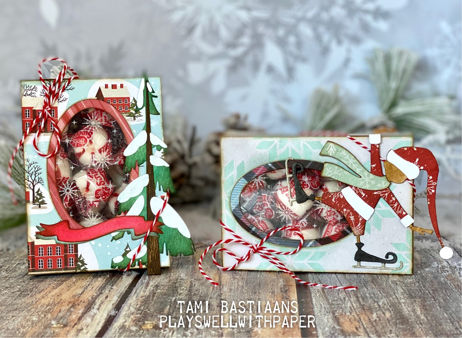 Plays Well With Paper: Thin Ice Curio Box Stocking Stuffers - Sizzix  Chapter 3 2020