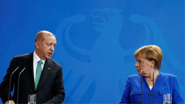Ερντογάν σε Μακρόν και Μέρκελ: Αναλάβετε πρωτοβουλίες για το Ιντλίμπ
