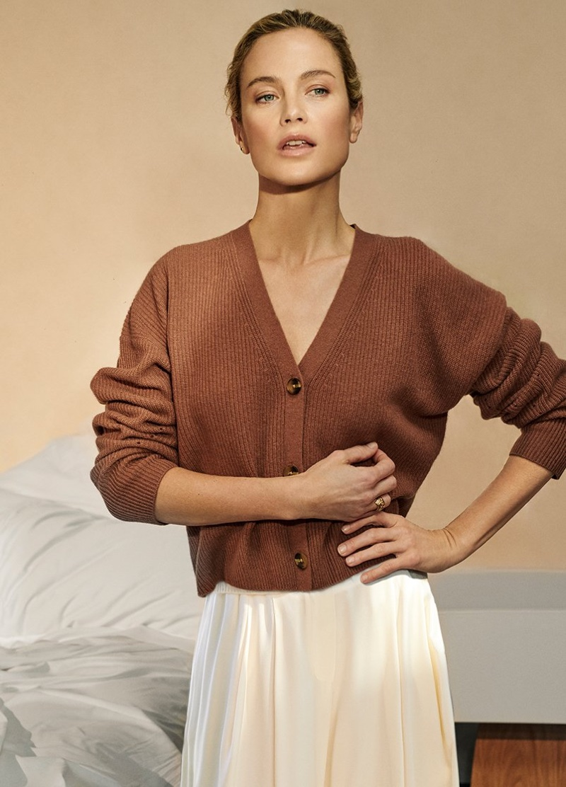 Carolyn Murphy stars in NakedCashmere spring-summer 2019 campaign