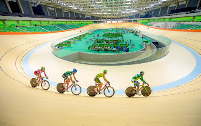 New Track for Cyclists at Rio Olympic Velodrome
