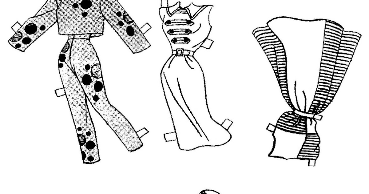 Mostly Paper Dolls Too!: MOPSY Comic Strip Paper Doll, 1959