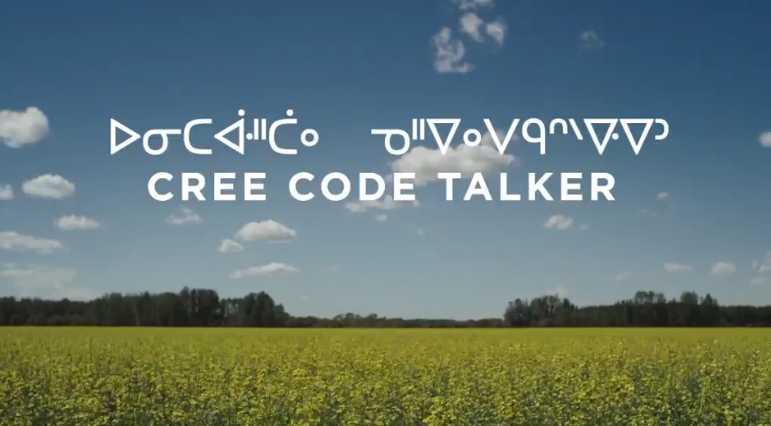 Image showing title of Cree Code Talker movie