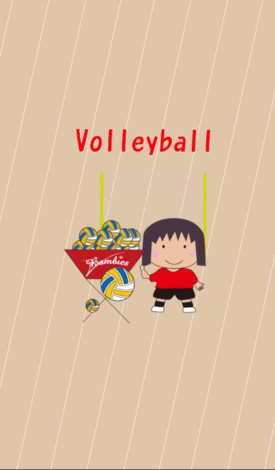Elementary school student volleyball