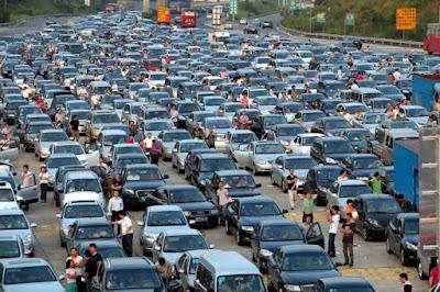 10 Negara dengan Kemacetan Paling Parah