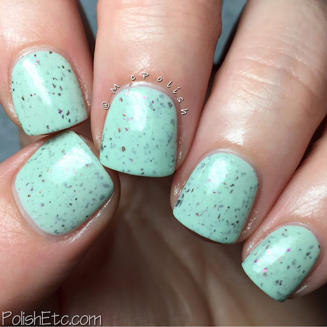 Ellagee - The Petal Pushers Trio - McPolish - Mint Tulip