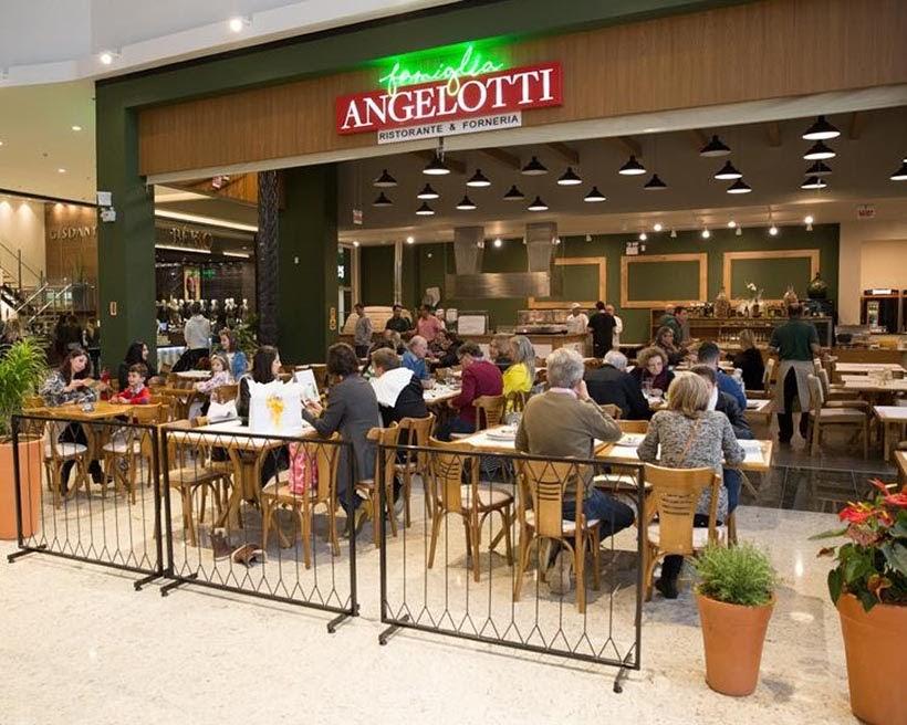 Onde comer em Criciúma - restaurante Famiglia Angelotti - Foto: Divulgação
