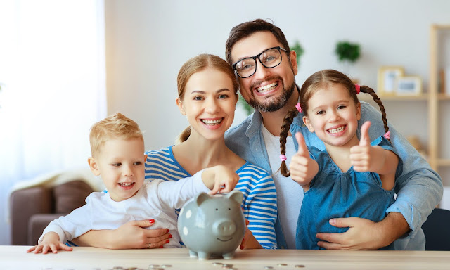 Family who budget becomes financially sound.
