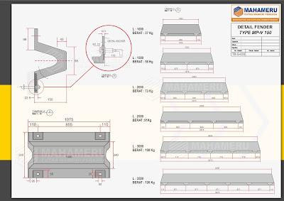 karet bumper pelabuhan v 150