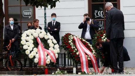 Τριήμερο εθνικό πένθος στην Αυστρία μετά την επίθεση