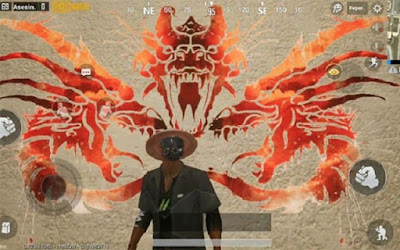 Ngoài Godzilla còn là Graffiti của các boss khủng khác trong vòng trò chơi