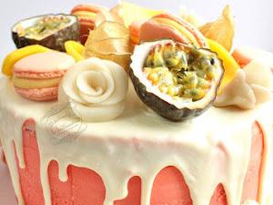 Gâteau mangue passion