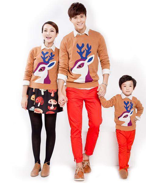 model baju natal keluarga