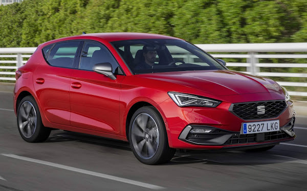 Baseado no Golf, Seat Leon obtém 5 estrelas no Euro NCAP