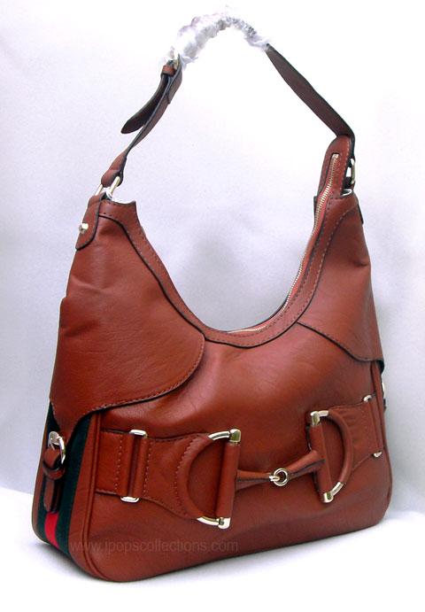 Kode  Tas Branded Gucci Heritage Hobo Coklat Semi Super Harga Rp. 600.000.  Lengkap dengan dusty bag dan sertifikat. Sold Out - Terjual 429ce84f18