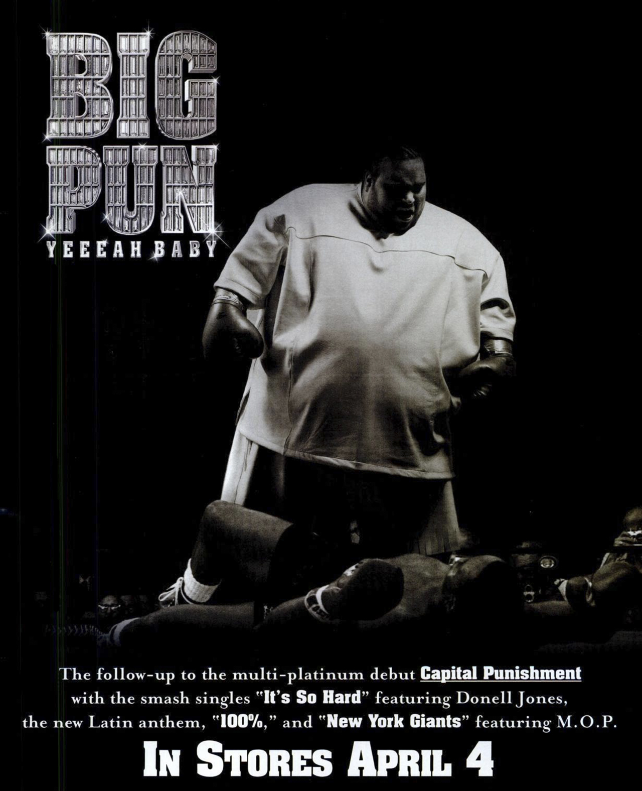 Big Pun Yeeeah Baby Advertisement Loud Records