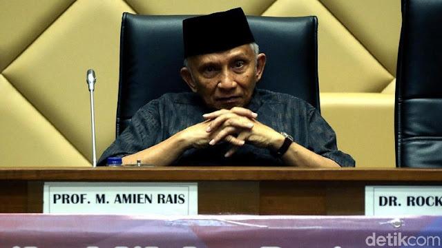 Endorsement Amien Rais Dinanti Partai Matahari Putih