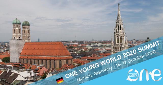 فرصة للمشاركة في منتدى One Young World  للتنمية البيئية والمجتمعية في ألمانيا 2020