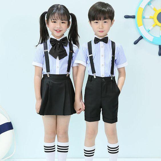 5 mẫu đồng phục mầm non được nhiều trường quốc tế yêu thích