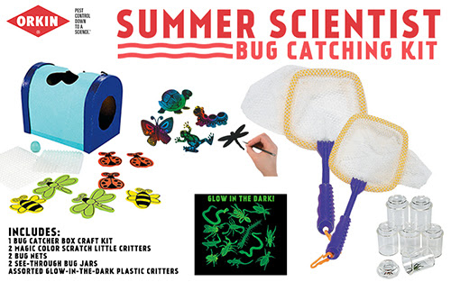 Orkin, Orkinman, bugs, mosquito, summer, science, giveaway, Blog app, win, bug catching kit, learn with orkin, learn, quiz, knowledge, family, kids,