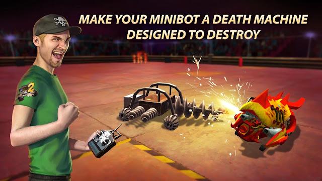 Robot Fighting 2 - Minibots 3D APK MOD Unlimited Money