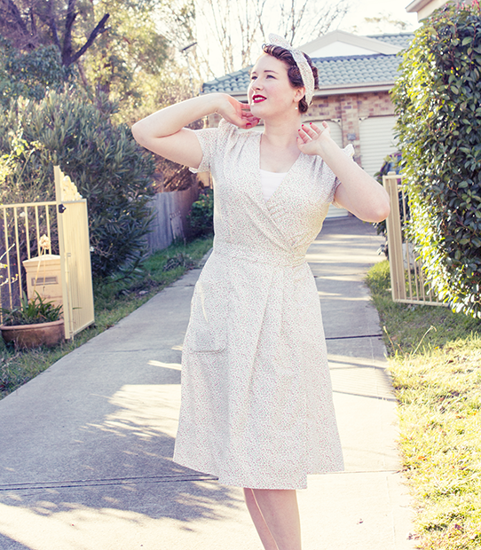 Easy 1940s style | Lavender & Twill