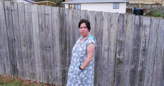 Another summer dress - the Leralynn in Linen