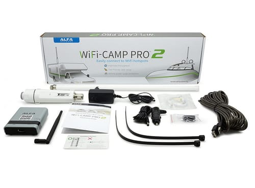 Alfa WiFi Camp Pro 2 Long Range WiFi Repeater