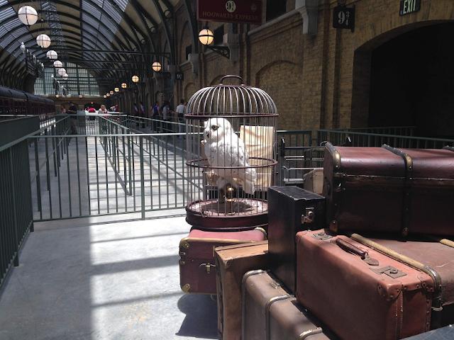 Informações sobre o Expresso Hogwarts em Orlando