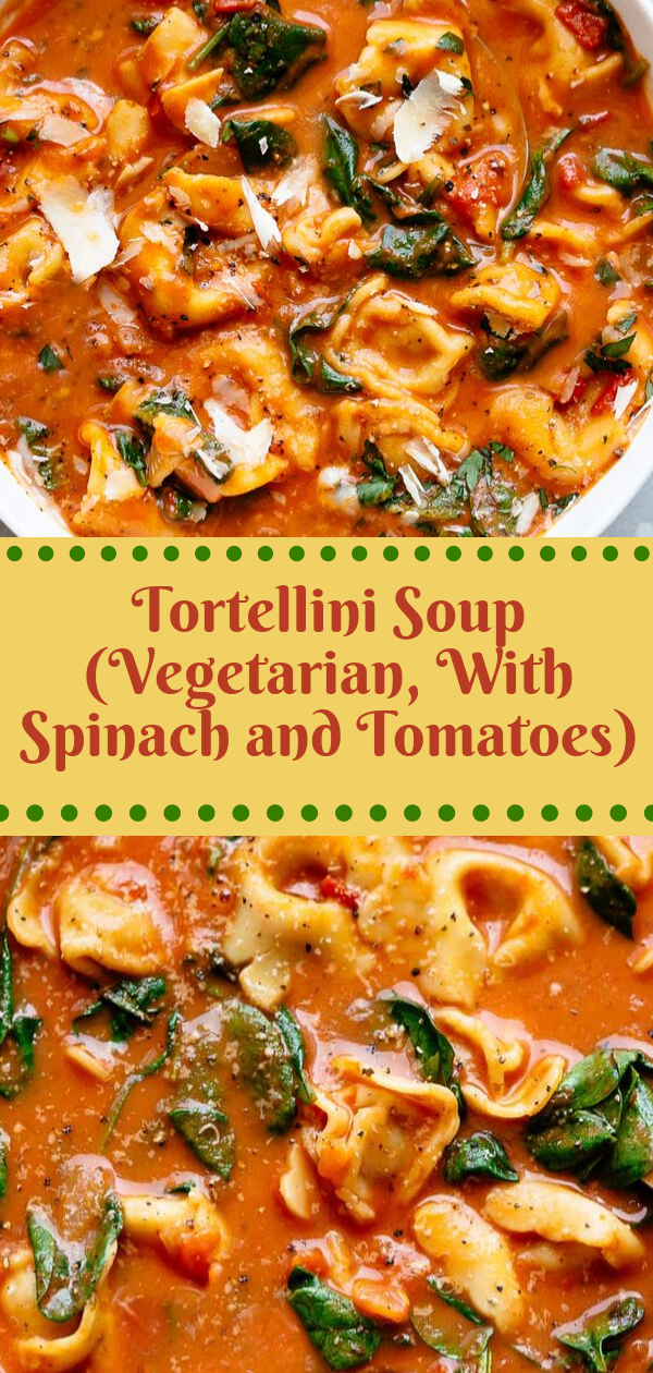 Healthy Recipes | Tortellini Soup (Vegetarian, With Spinach and Tomatoes), Healthy Recipes For Weight Loss, Healthy Recipes Easy, Healthy Recipes Dinner, Healthy Recipes Pasta, Healthy Recipes On A Budget, Healthy Recipes Breakfast, Healthy Recipes For Picky Eaters, Healthy Recipes Desserts, Healthy Recipes Clean, Healthy Recipes Snacks, Healthy Recipes Low Carb, Healthy Recipes Meal Prep, Healthy Recipes Vegetarian, Healthy Recipes Lunch, Healthy Recipes For Kids, Healthy Recipes Crock Pot, Healthy Recipes Videos, Healthy Recipes Weightloss, Healthy Recipes Chicken, Healthy Recipes Heart, Healthy Recipes For One, Healthy Recipes For Diabetics, Healthy Recipes Smoothies, Healthy Recipes For Two, Healthy Recipes Simple, Healthy Recipes For Teens, Healthy Recipes Protein, Healthy Recipes Vegan, Healthy Recipes For Family, Healthy Recipes Salad, Healthy Recipes Cheap, Healthy Recipes Shrimp, Healthy Recipes Paleo, Healthy Recipes Delicious, Healthy Recipes Gluten Free, Healthy Recipes Steak, Healthy Recipes For School, Healthy Recipes Slimming World, Healthy Recipes Fitness, Healthy Recipes Baking, Healthy Recipes Sweet, Healthy Recipes Indian, Healthy Recipes Summer, Healthy Recipes Vegetables, Healthy Recipes Diet, Healthy Recipes No Meat, Healthy Recipes Asian, Healthy Recipes On The Go, Healthy Recipes Fast, Healthy Recipes Ground Turkey, Healthy Recipes Rice, Healthy Recipes Mexican, Healthy Recipes Fruit, Healthy Recipes Tuna, Healthy Recipes Sides, Healthy Recipes Zucchini, Healthy Recipes Broccoli, Healthy Recipes Spinach,  #healthyrecipes #recipes #food #appetizers #dinner #tortellini #soup #vegetarian #spinach #tomatoes