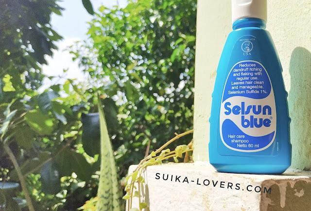 shampoo selsun biru, selsun blue ketombe, review shampoo selsun blue ketombe