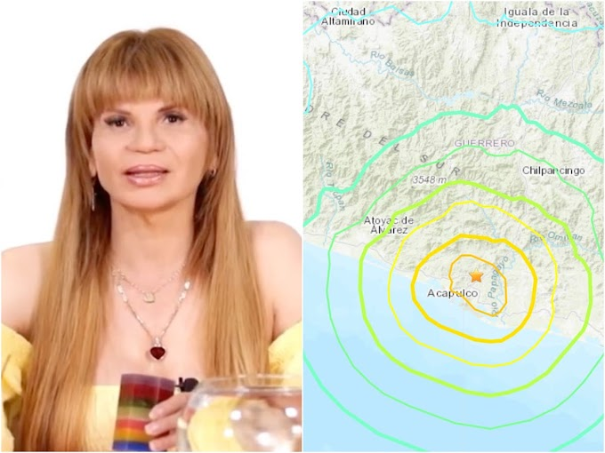 Así predijo Mhoni Vidente el SISMO en México