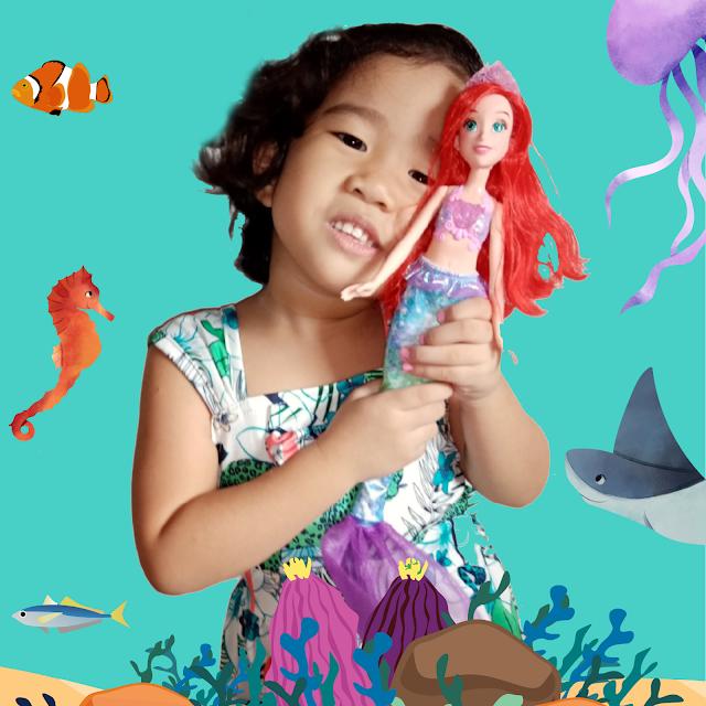 Disney Princess Doll Shimmering Song Ariel Doll