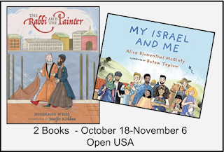 MY ISRAEL & ME and THE RABBI AND THE PAINTER