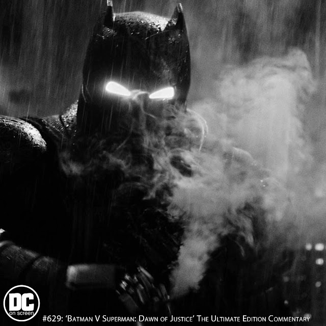 Batfleck pops a smoke bomb in his armor