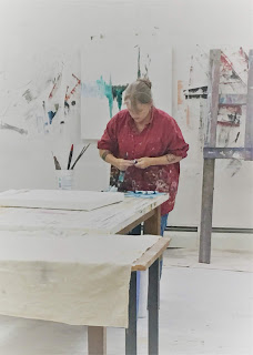 Image of Martha Hope Carey in her studio