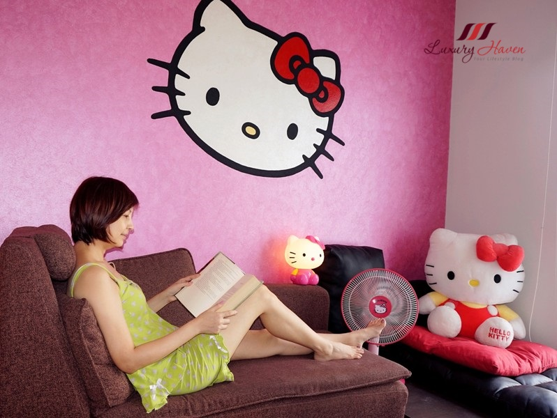 luxury haven lifestyle blogger nippon paint hello kitty
