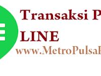 Panduan Transaksi Pulsa Via Line di Metro Reload