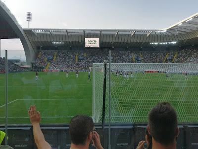 Udinese-Milan: curva sud stadio friuli