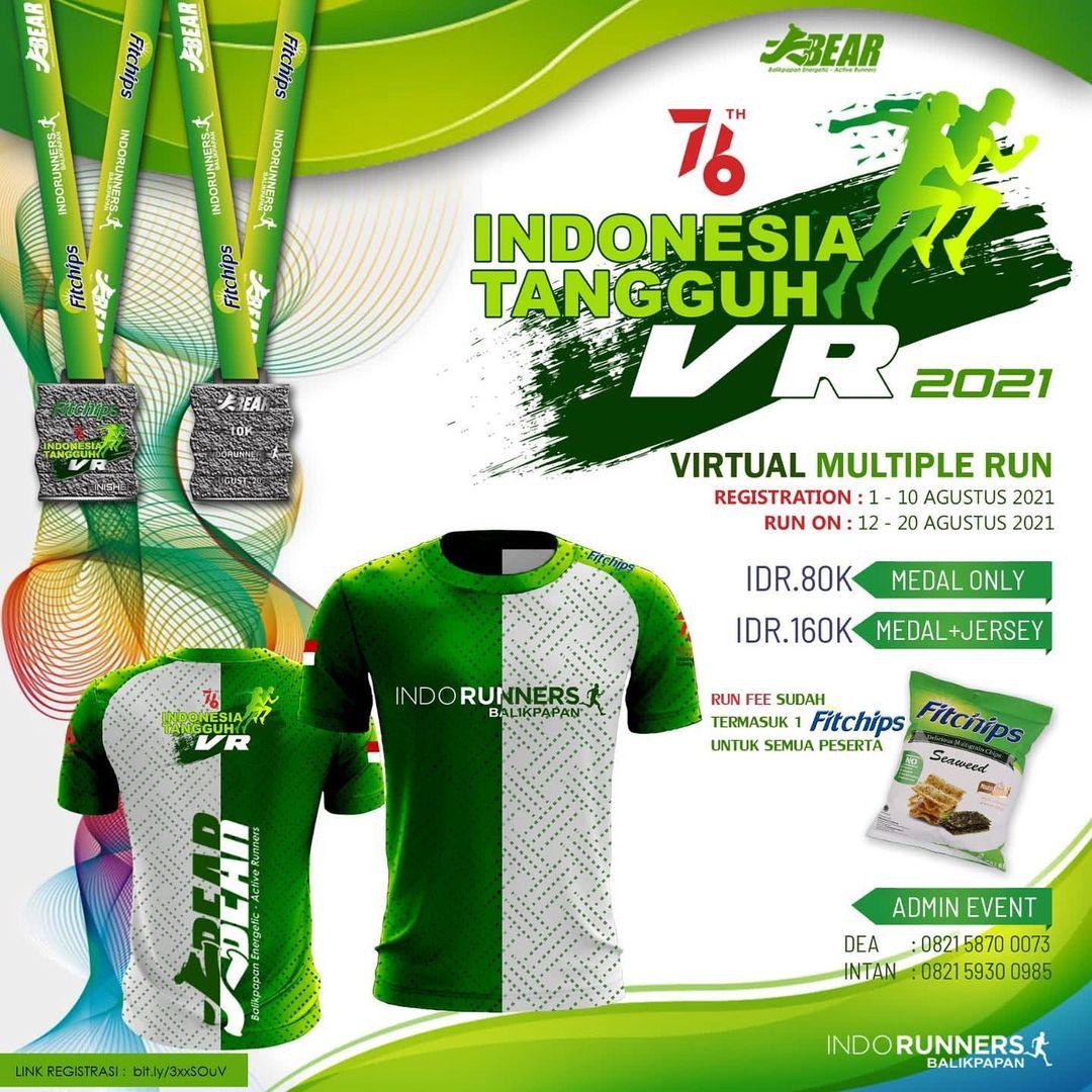 Indonesia Tangguh Fitchips Virtual Run • 2021