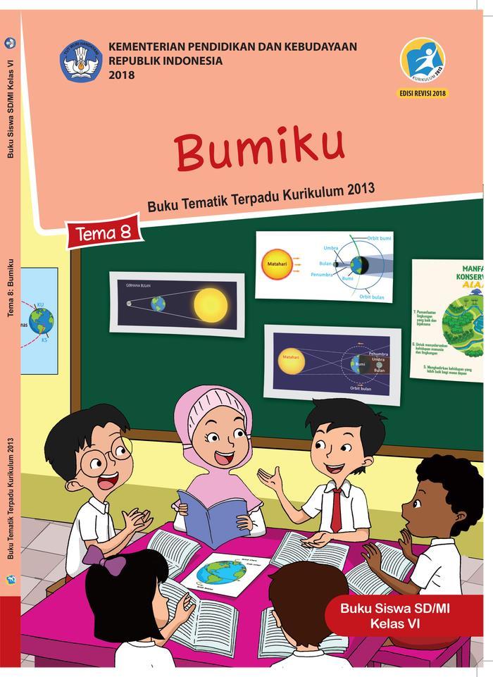Buku Siswa Tematik  SD Kelas VI  Tema 8 Bumiku